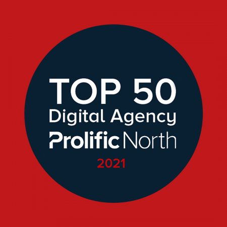 Top 50 Digital Agencies by Prolific North - Evolved Search in at number 35 for 2021
