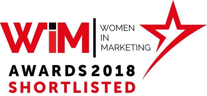 Women in Marketing awards logo - a day in the life of Ruth Walker