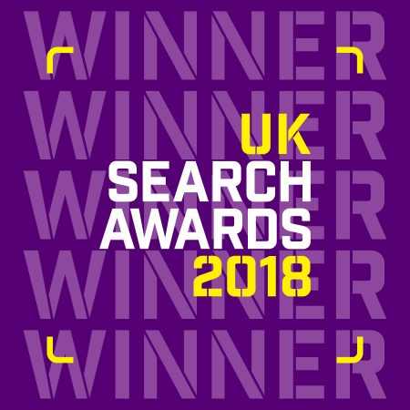 uk search award winners - evolved search - best B2C campaign 2018