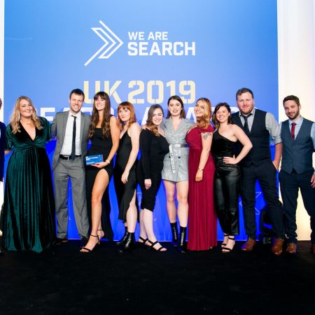 Evolved Search win Best Content Marketing Campaign at the UK Search Awards 2019