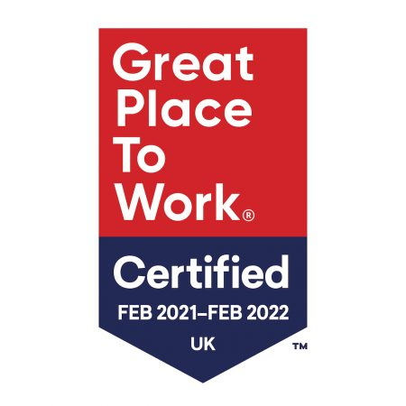 Evolved Search is now a certified Great Place to Work - Best agencies to work for in the UK 2021