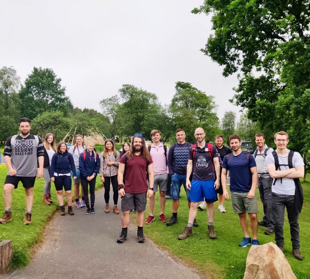 Evolved Search take on a marathon walk for charity and have raised over £4000